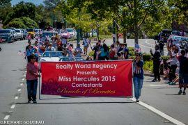 Miss Hercules parade 2015